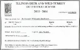 Licensed Illinois Whitetail Outfitters
